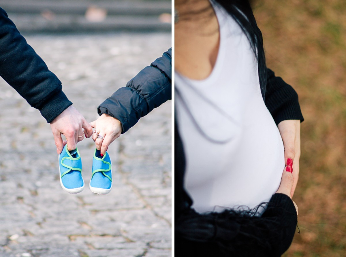 FAMILY Moment | Schwangerschaftsshoot in Ludwigsburg