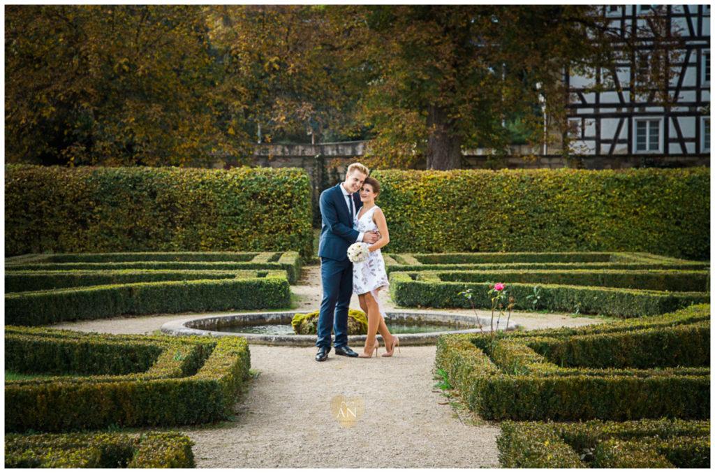 WEDDING | Standesamtliche Trauung im kleinen Schloss